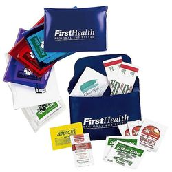 Sun & Fun Kit Includes Sunscreen, Pain Reliever, Bandages