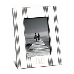 "4"" x 6"" Striped Picture Frame"