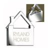 House Shaped Pull Top Key Tag