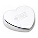 Heart Shaped Paperweight with Black Felt Bottom