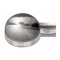 Brushed Nickel Paperweight / Photo Dome Designed by MoMA