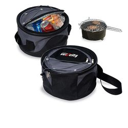 Weekend Grill & Cooler is Great for Tailgates or Picnics