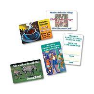 Full Color Plastic Membership Cards