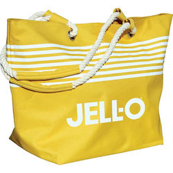"14"" x 22"" Polyester Striped Tote Bag"
