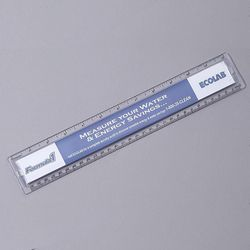 "12"" Quickview Ruler Made From Corn Plastic"