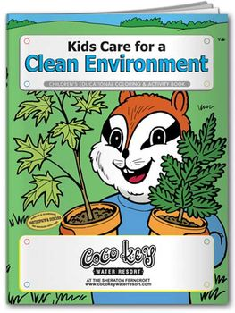 Clean Environment Coloring & Activity Book