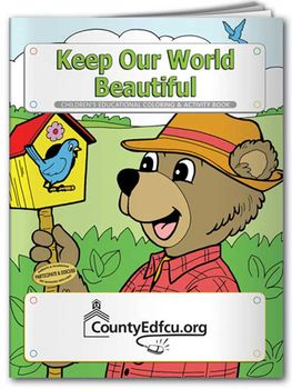 Keep Our World Beautiful Coloring & Activity Book