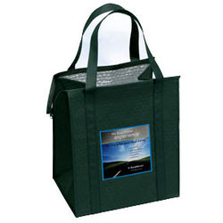 Insulated Grocery Bag - Non-Woven  with Full Color Printing