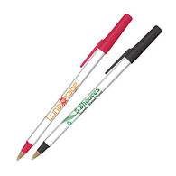Bic® Round Stic Ecolutions Pen Made from Recycled Plastic