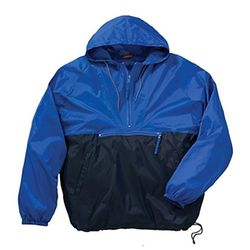Budget 1/4 Zip Packable Nylon Jacket