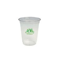 12 oz. Clear Cup Made From Biodegradable and Renewable Corn Plastic
