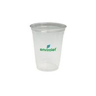 16 oz. Clear Cup Made From Biodegradable and Renewable Corn Plastic