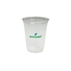 16 oz. Clear Cup Made From Corn Plastic
