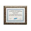 Eco-Friendly Slide-In Certificate Plaque - Biocomposite (UNimprinted)