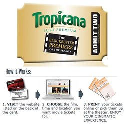 Gift Cards - Movie Ticket