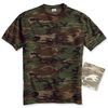 Adult 100% Cotton Camouflage Tee