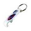 Hard Plastic Bottle Opener with KeyChain with Full Color Printing