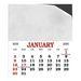 Business Card Calendar Magnets