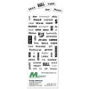 Financial Words with Business Card Magnet (can be customized with YOUR words!)