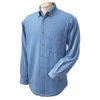 Harriton Men's Long-Sleeve Denim Shirt