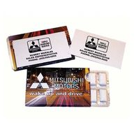 Business Card Gum Sleeve Pack