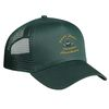 5-Panel, Medium Profile, Mesh Back Cap with Adjustable Snap Tab Closure
