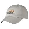 6-Panel Cotton, Low Profile Chino Cap with Self-Fabric Velcro&reg Closure