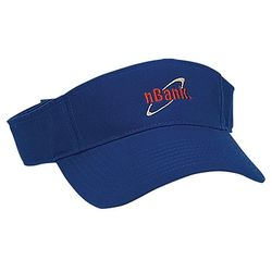 Cotton Chino Visor with Self-Fabric Velcro&reg Closure