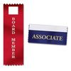Stock Imprint Ribbons Attach to Name Badges