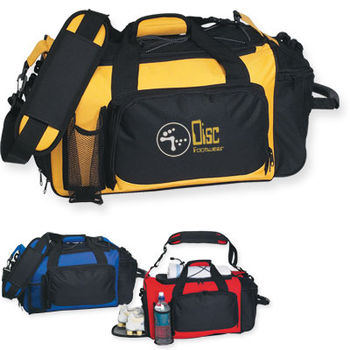"21"" Oversized Polyester Sports Duffel Bag"
