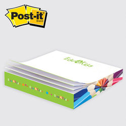 "Post-it&reg Notes Slim Cube - 3.375"" x 3.375"" x .5"""