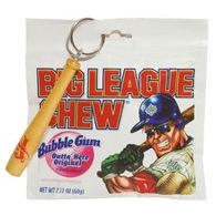 Big League Chew Gum Pouch with Mini Baseball Bat Key Chain