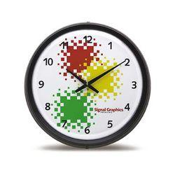 "17"" Huge Black Wall Clock"