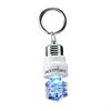 Light-Up Compact Flourescent Light Bulb Keytag