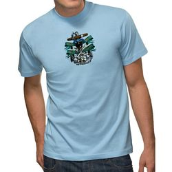 Unisex 6.1 oz. Ultra Cotton Tee with Full Color Printing - COLORED Shirts