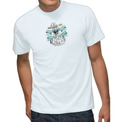 Unisex 6.1 oz. Ultra Cotton Tee with Full Color Printing - WHITE Shirts