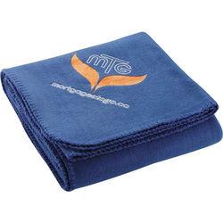 "50"" x 60"" Fleece Blanket with Transfer Imprint"