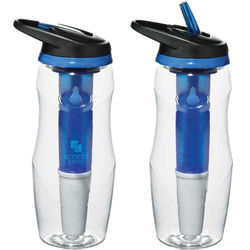26 oz. Water Filtration BPA Free Dishwasher-Safe-Freezer Bar Sport Bottle