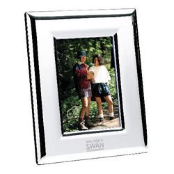 "4"" x 6"" Silver-Plated Picture Frame"