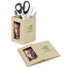 Eco-Friendly Pencil Cup with Photo Frame Folds Flat for Direct Mailing