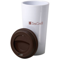 "16 oz. PLASTIC Reusable ""Carry Out"" Cup"