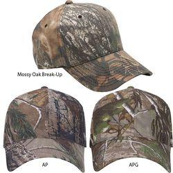 6-Panel Camouflage Cap