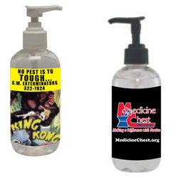 8 oz. Hand Sanitizer Pump with Custom Label