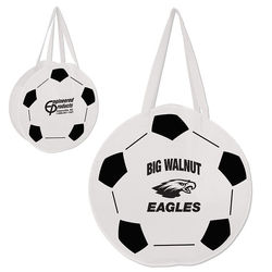Soccer Ball Tote Bag Made From Recycled Materials