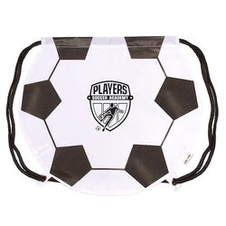 Soccer Ball Drawstring Backpack