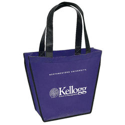 "Non-Woven Gift Tote - 12"" x 10""  with 18"" Handles"