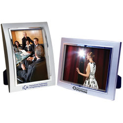 """4"""" x 6"""" Metalized Plastic Curved Frame"""