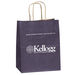 "Matte Paper Shopping Bag - 7.75"" x 9.75"" - Foil Imprint"
