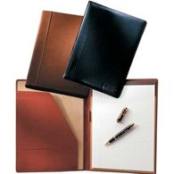 Letter-Size Calfskin Leather Portfolio