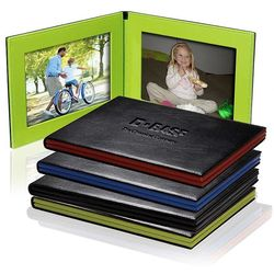 "4"" x 6"" Hampton Classic Folding Frame Holds Two Photos"